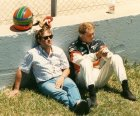 Together with Pascal Witmeur F3000 1990