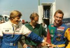 Thierry Boutsen and Bertrand Gachot