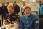 Together with Thierry Boutsen F1 1991