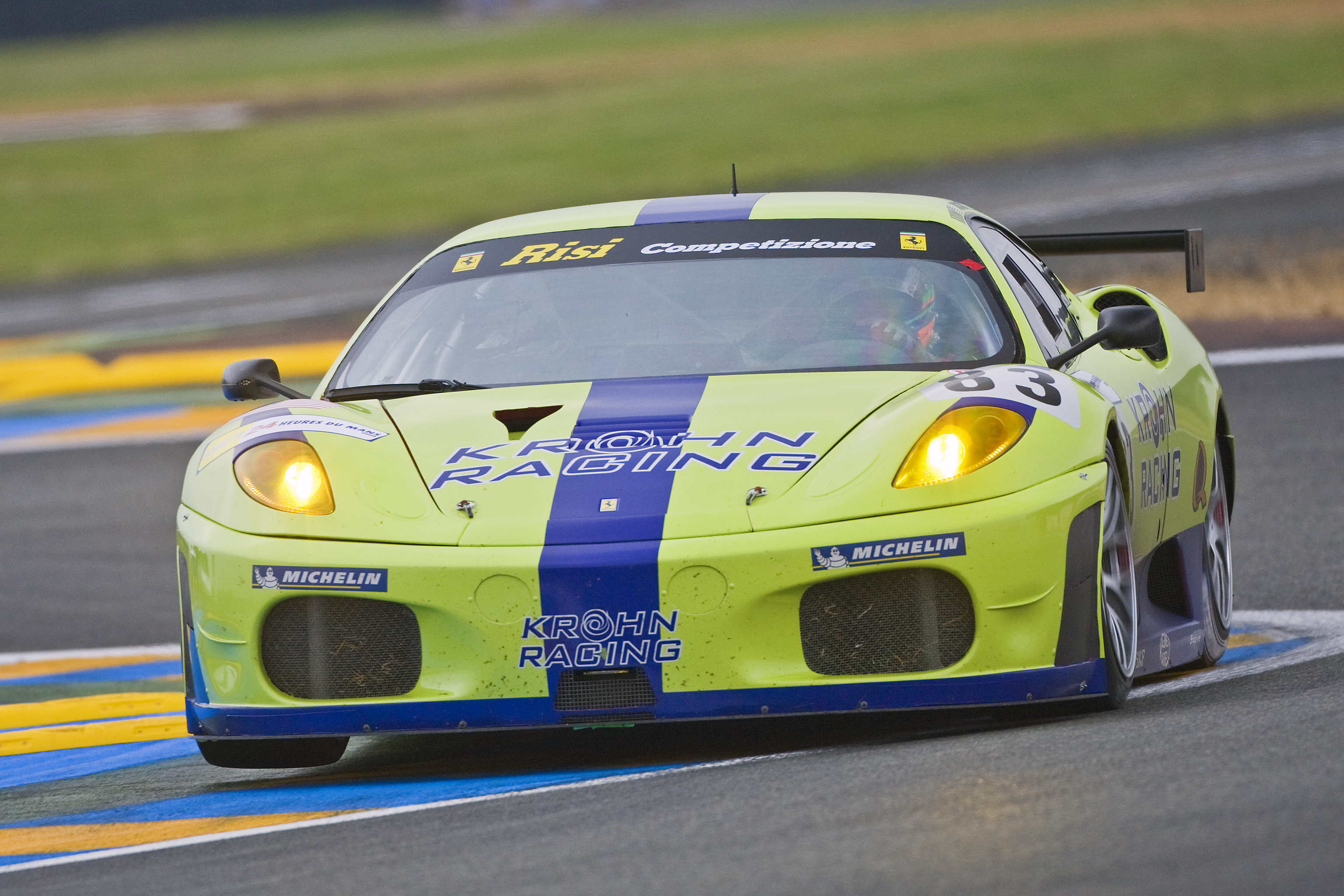 2008 - Le Mans test day