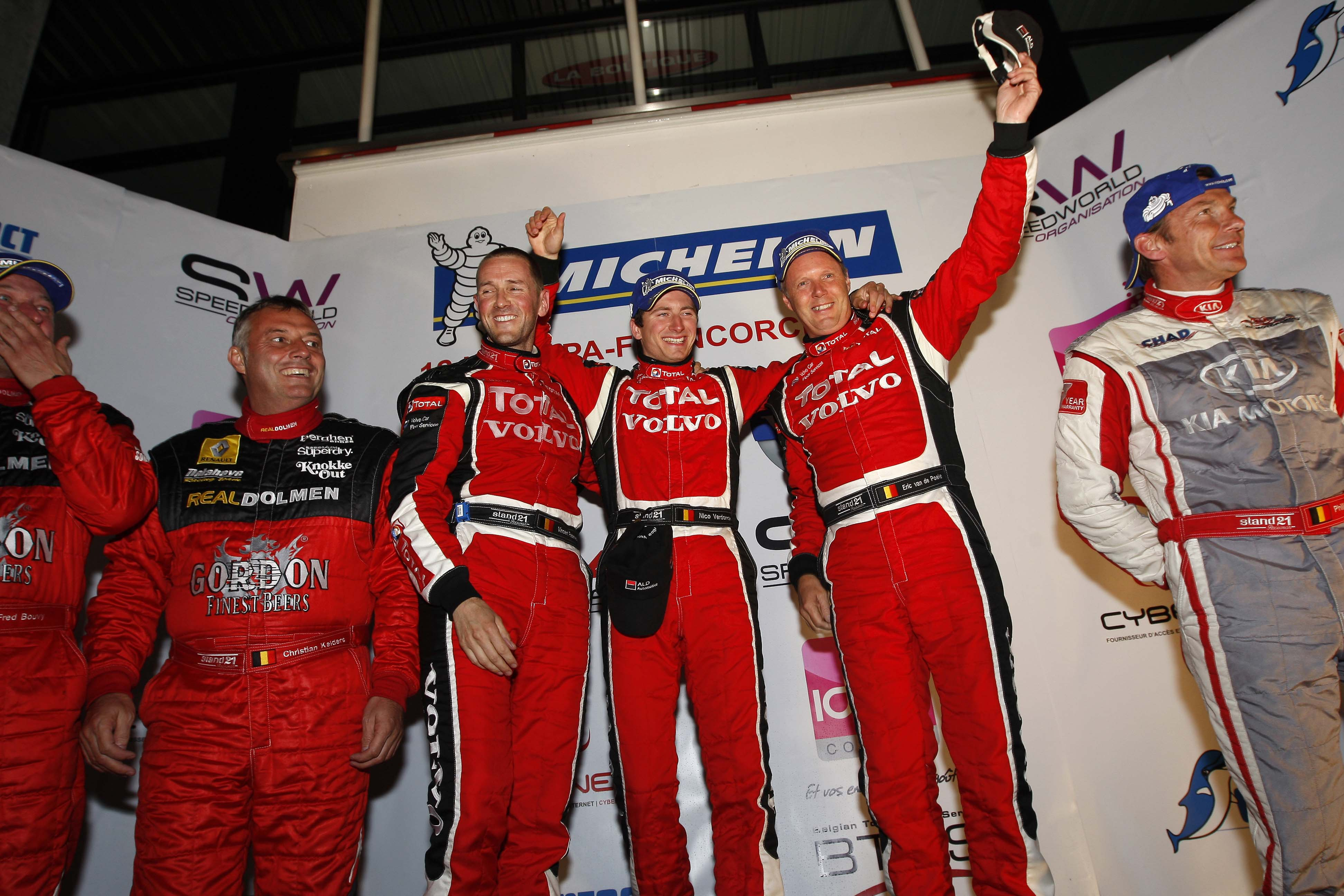 2011 - Podium SPA 12 H - BTCS
